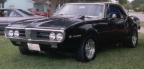 1967 Black Pontiac Firebird 400 Coupe