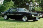 1967 Black Pontiac Firebird 350 Coupe