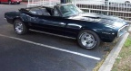 1967 Azure Metallic Blue Pontiac Firebird 400 Convertible