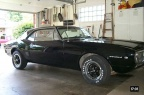 1967 Black Pontiac Firebird 326 Coupe