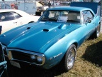 1967 Blue Pontiac Firebird Coupe
