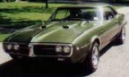 1967 Verdoro Green Pontiac Firebird 400 Coupe