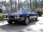1968 Agena Blue Pontiac Firebird 350 Coupe