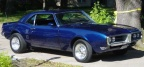 1968 2004 GM Indigo Blue Pontiac Firebird 350 Coupe