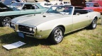 1968 April Gold Pontiac Firebird 400 H O Convertible