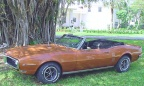 1968 Autumn Bronze Pontiac Firebird 350 Convertible
