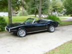 1968 Black Pontiac Firebird 350 Convertible