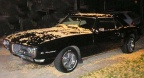 1968 Black Pontiac Firebird 350 Coupe