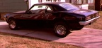 1968 Black Pontiac Firebird 350 Coupe 2