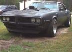 1968 Black Pontiac Firebird 350 Coupe 3
