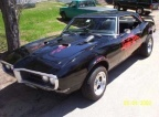 1968 Black Pontiac Firebird 400 Coupe