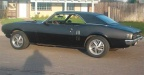 1968 Black Pontiac Firebird 400 Coupe 3
