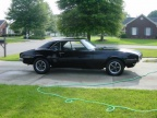 1968 Black Pontiac Firebird OHC 6 Sprint Coupe