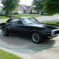 1968 Black Pontiac Firebird OHC 6 Sprint Coupe 2