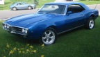 1968 Blue Pontiac Firebird 350 Coupe