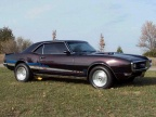 1968 Blackcherry Pontiac Firebird 400 Coupe