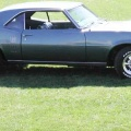 1968 Blue Pontiac Firebird 350 Coupe 2