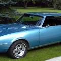 1968 Blue Pontiac Firebird 400 Coupe 2