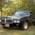 1969 Blue Pontiac Firebird 350 Coupe 2