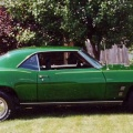 1969 Candy Apple Green Pontiac Firebird Modified Coupe